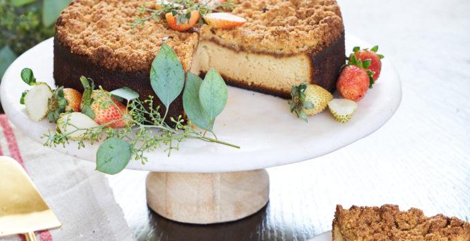 Grain-Free Coffee Cake with Crumb Topping Recipe