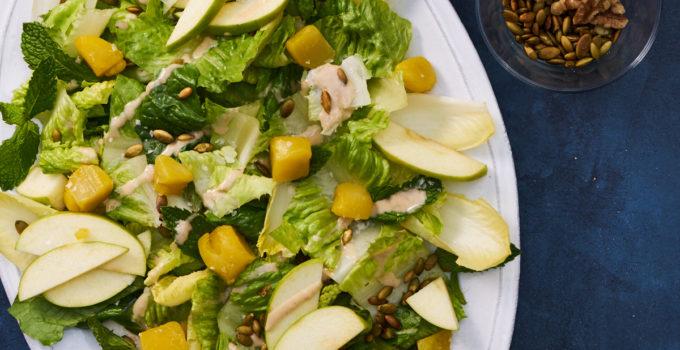 Fall Salad with Apples and Walnut Vinaigrette Recipe