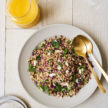 Farro Chopped Salad with Orange Juice Vinaigrette Recipe