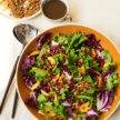 Fall Market Salad with Pomegranate Vinaigrette and Savory Granola Recipe
