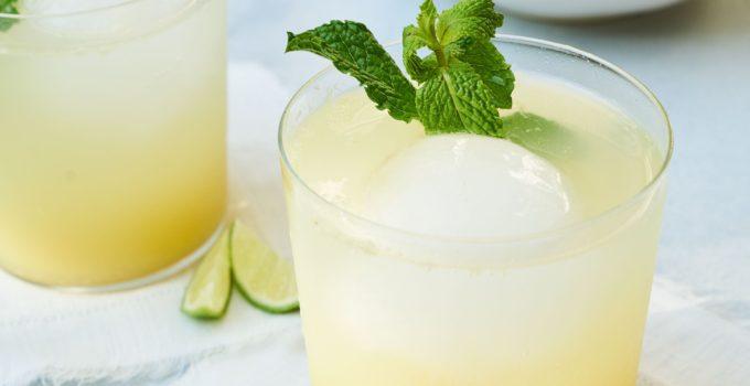 Ginger-Lime Spritzer Recipe
