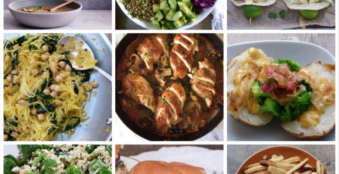 Dinner Planner – Week of January 25th, 2021