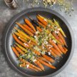 Sweet and Spicy Carrots with Pistachios and Feta Recipe
