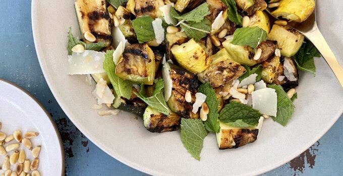 Grilled Squash Salad Recipe
