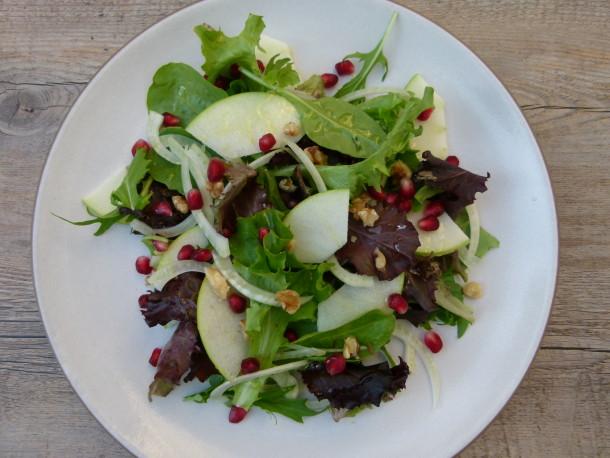 fennel and green apple salad | pamela salzman