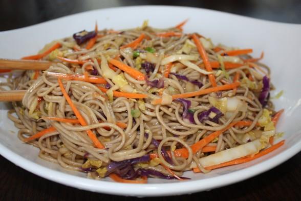 asian noodle salad recipe | Pamela Salzman & Recipes