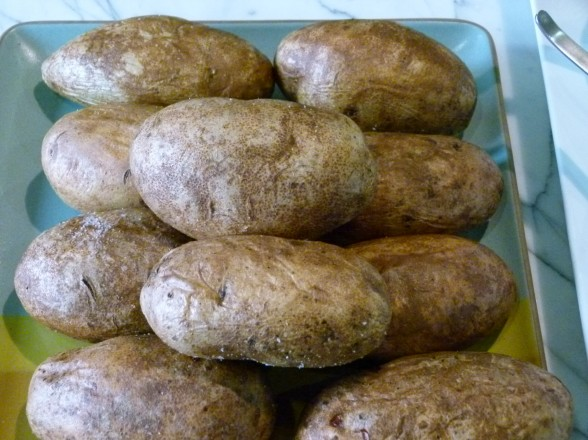 perfect baked potatoes | pamela salzman