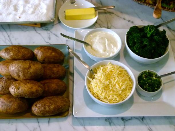 perfect baked potato | pamela salzman