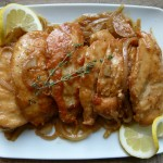 lemon-thyme chicken | pamela salzman
