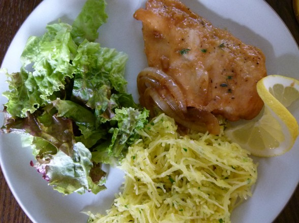 lemon-thyme chicken | pamela salzman