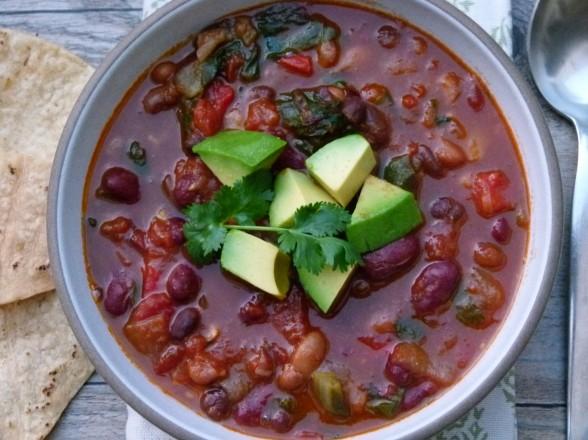 vegetable chili (vegan) | pamela salzman