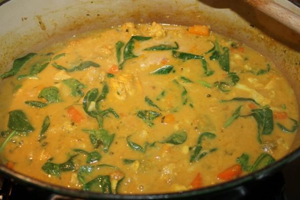 chicken and vegetable curry | pamela salzman