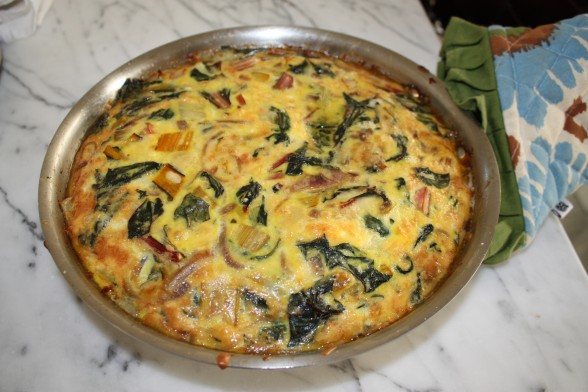 Swiss Chard Frittata Recipe