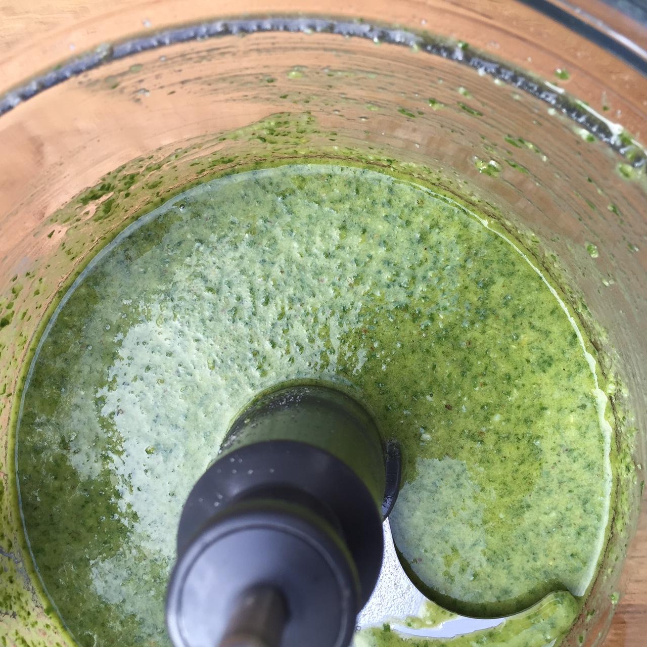 basil-parsley pesto | pamela salzman