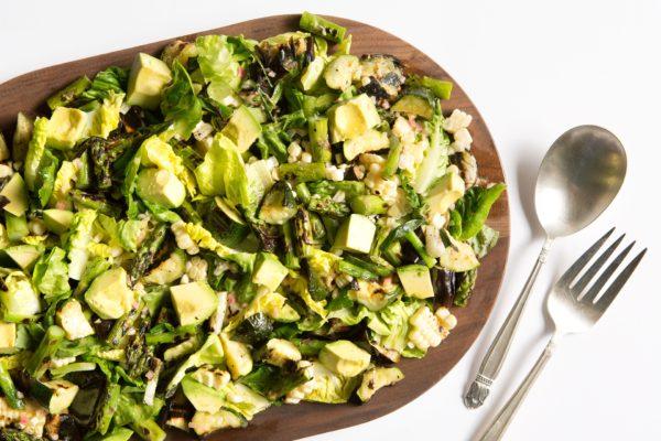 chopped grilled vegetable salad   pamela salzman