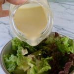 creamy miso-ginger dressing