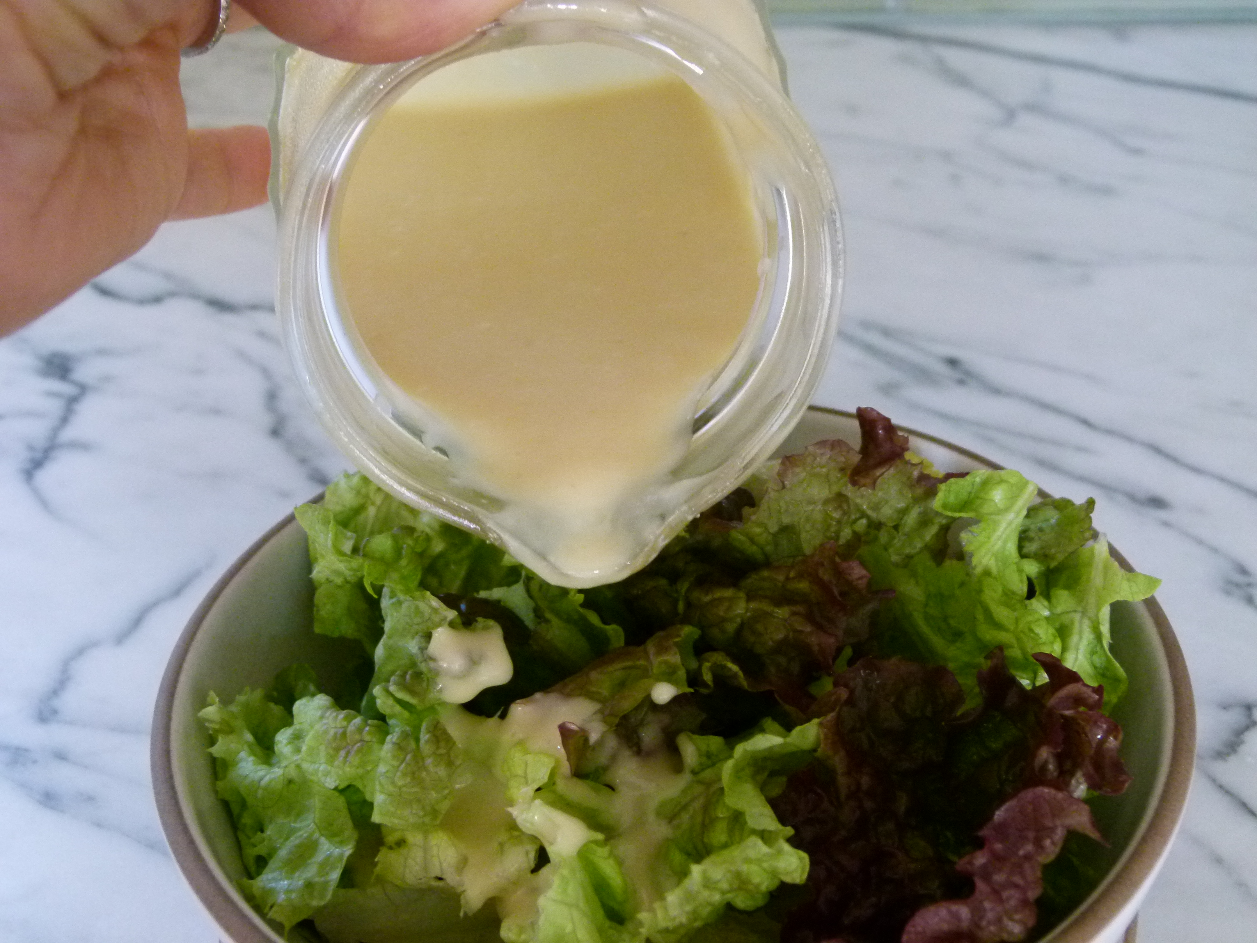 creamy miso-ginger dressing | Pamela Salzman & Recipes