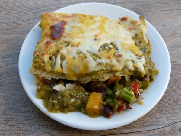 enchilada casserole | pamela salzman