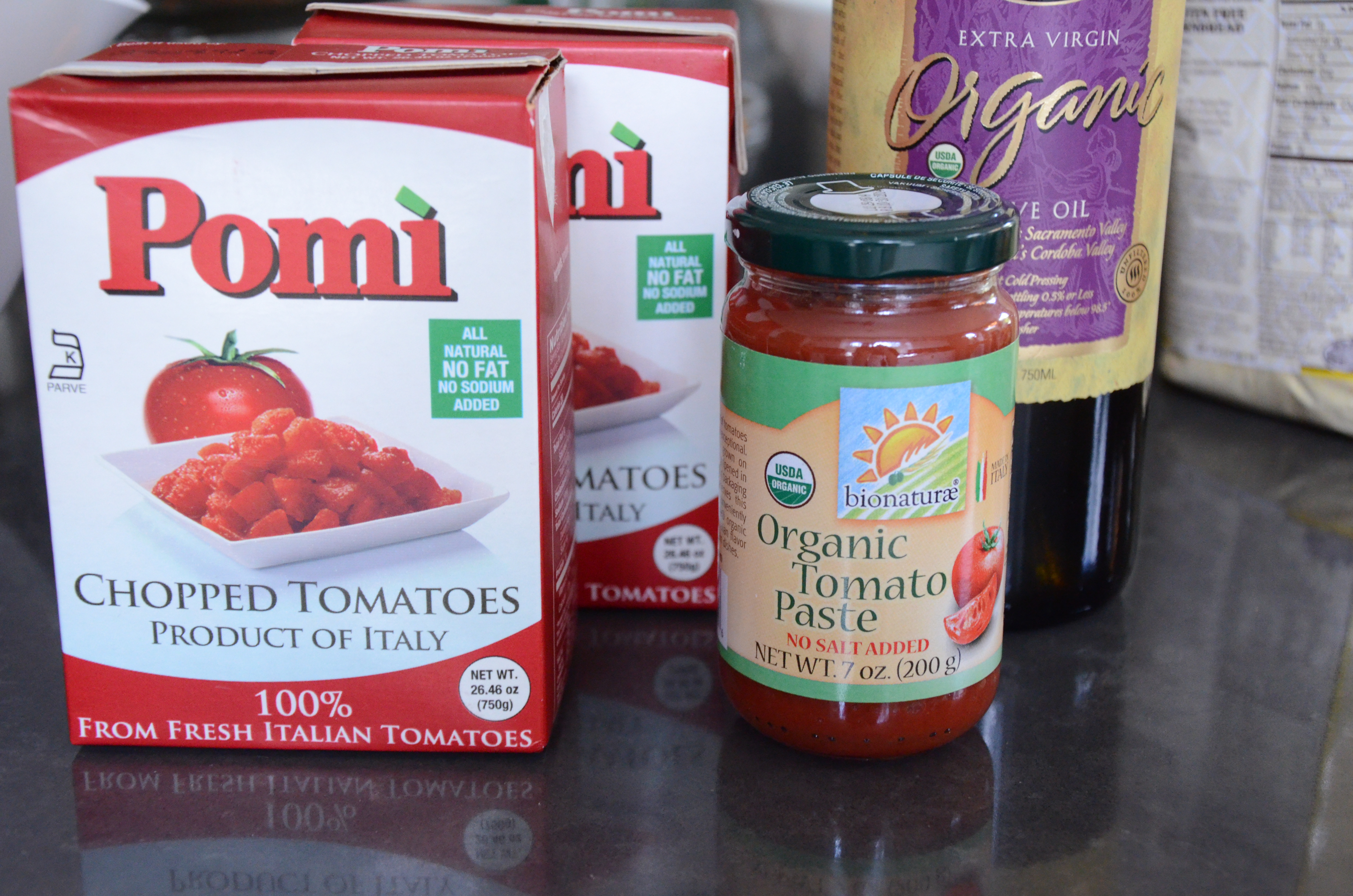 Tomato sauce recipe chopped tomatoes