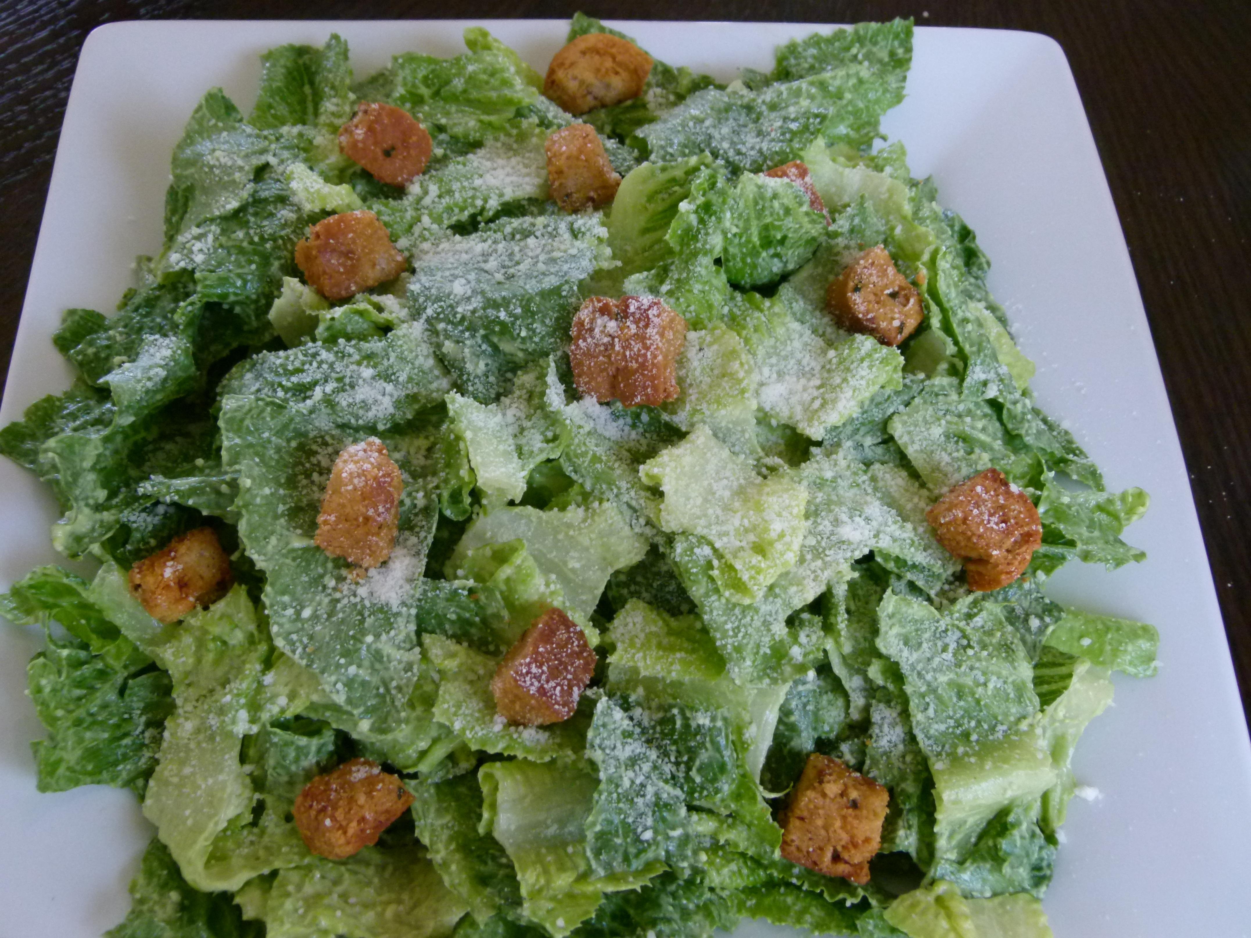 Egg-Free Avocado Caesar Salad Recipe | Pamela Salzman ...