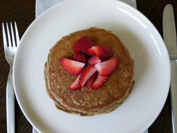 gluten-free oatmeal pancakes | pamela salzman