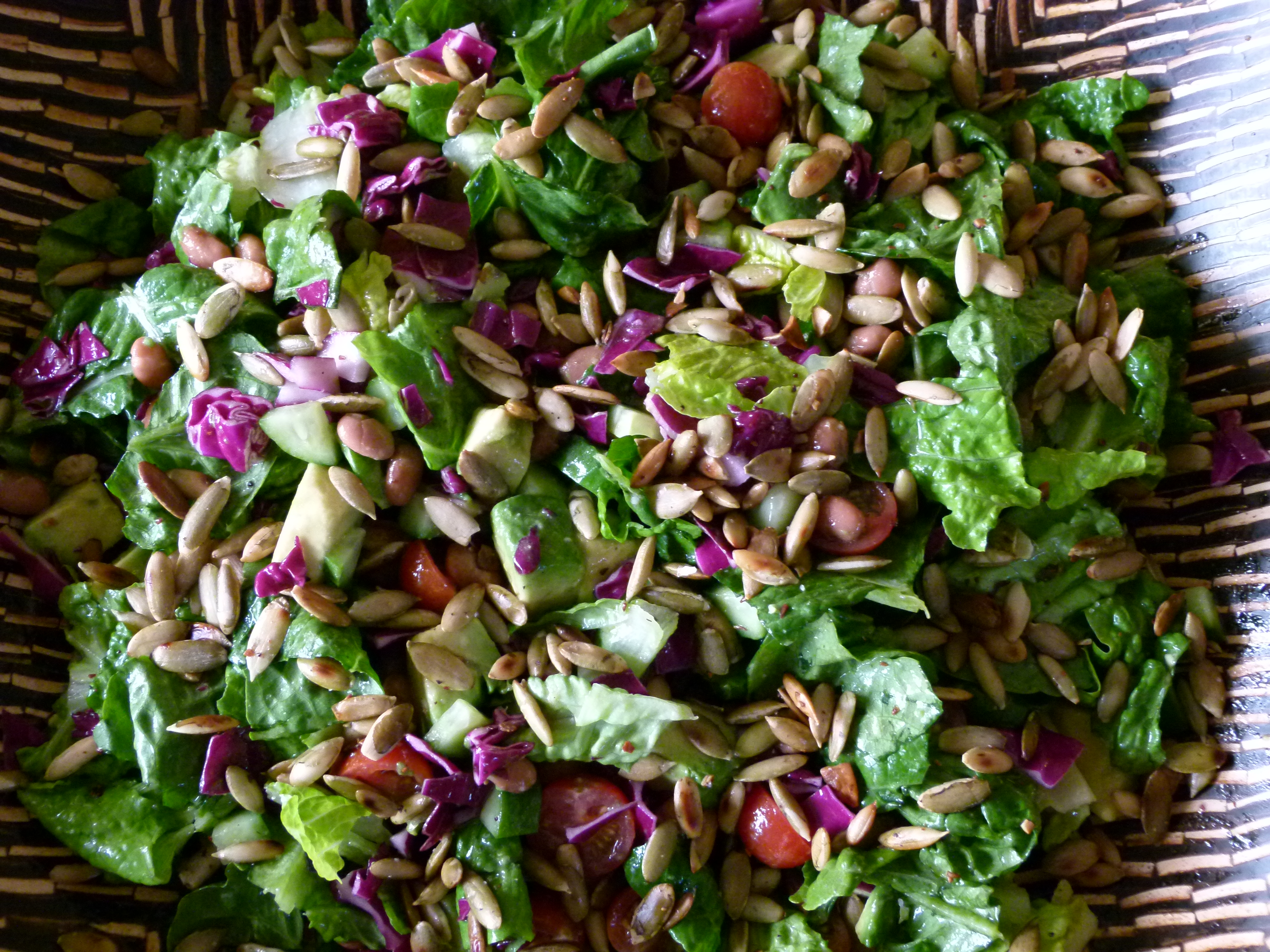 Butter Lettuce And Pumpkin Seed Salad Recipes — Dishmaps