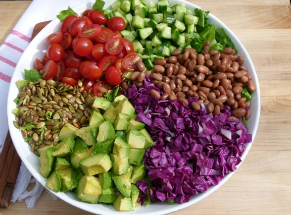 mexican chopped salad | pamela salzman