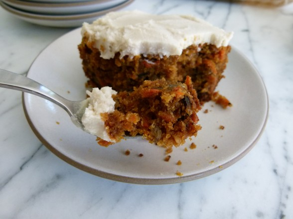 Whole Wheat Carrot Cake With Dairy Free Frosting Recipe