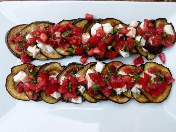 eggplant caprese recipe | Pamela Salzman & Recipes