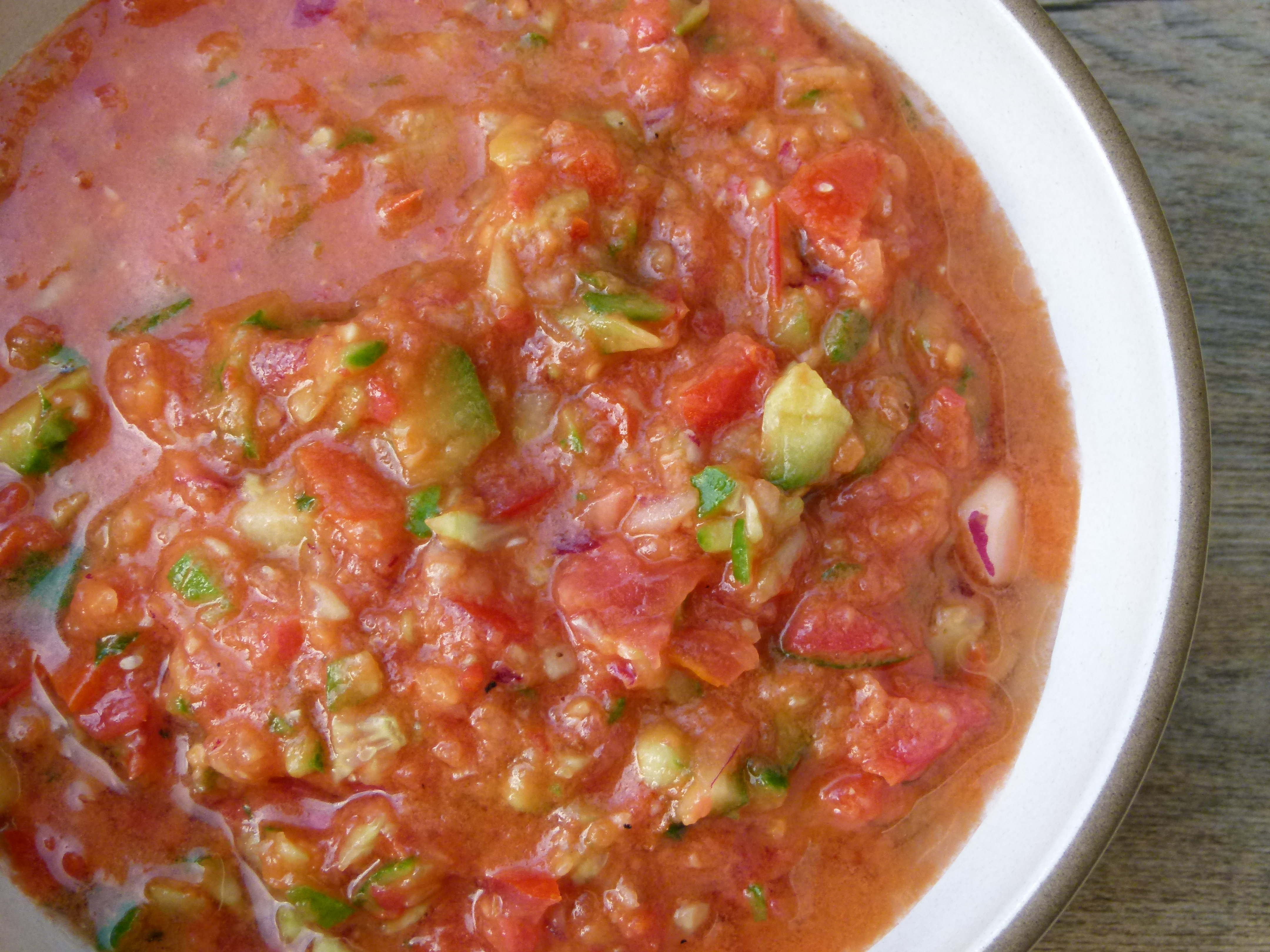Summery Gazpacho Clean Eating Recipe advise