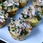Kale, Mushroom and Brown Rice Muffins!