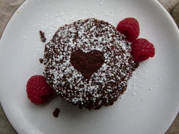 Hungry Girl Mini Flourless Pb Chocolate Cakes