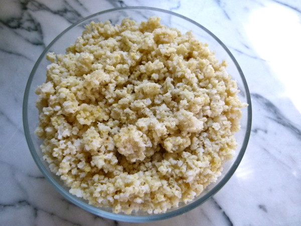 creamy coconut millet porridge by Pamela Salzman