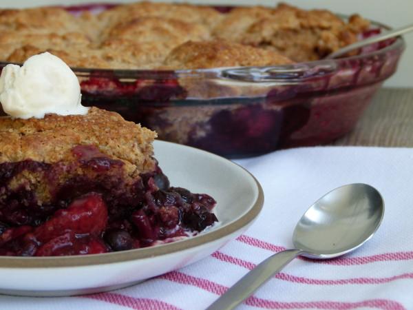 Mixed Berry Cobbler | Pamela Salzman