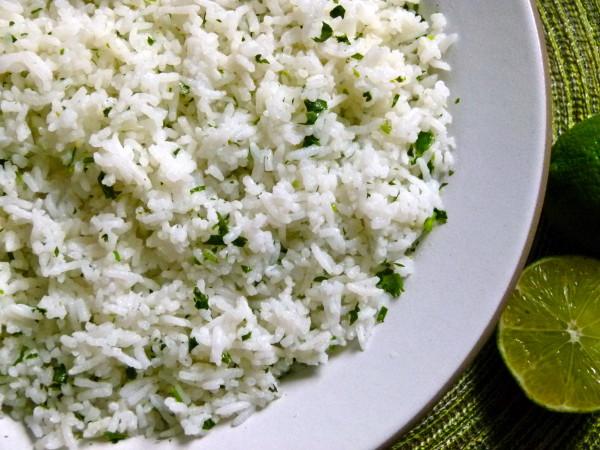 Cilantro-Lime Rice from Pamela Salzman