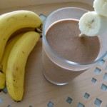 chocolate peanut butter banana oatmeal smoothie by Pamela Salzman