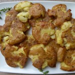 roasted smashed potatoes by pamela salzman