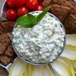 Feta and Cucumber Dip by Pamela Salzman