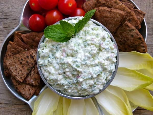Feta and Cucumber Dip | Pamela Salzman