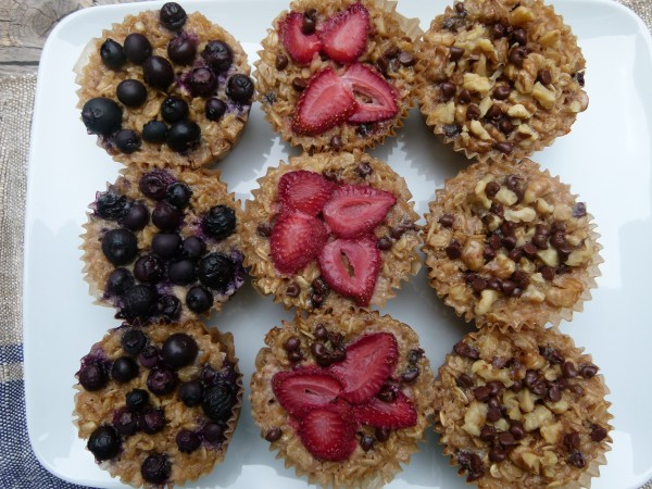 Individual Baked Oatmeal Cups by Pamela Salzman