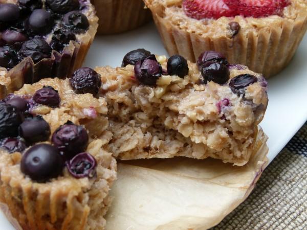 individual baked oatmeal cups | pamela salzman