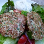 mediterranean turkey and zucchini burgers