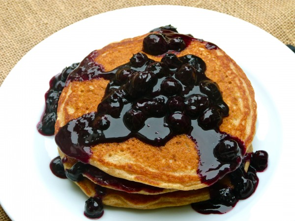 fresh blueberry sauce | pamela salzman