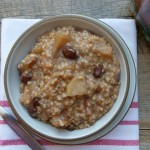 slow cooker apple pie steel cut oats