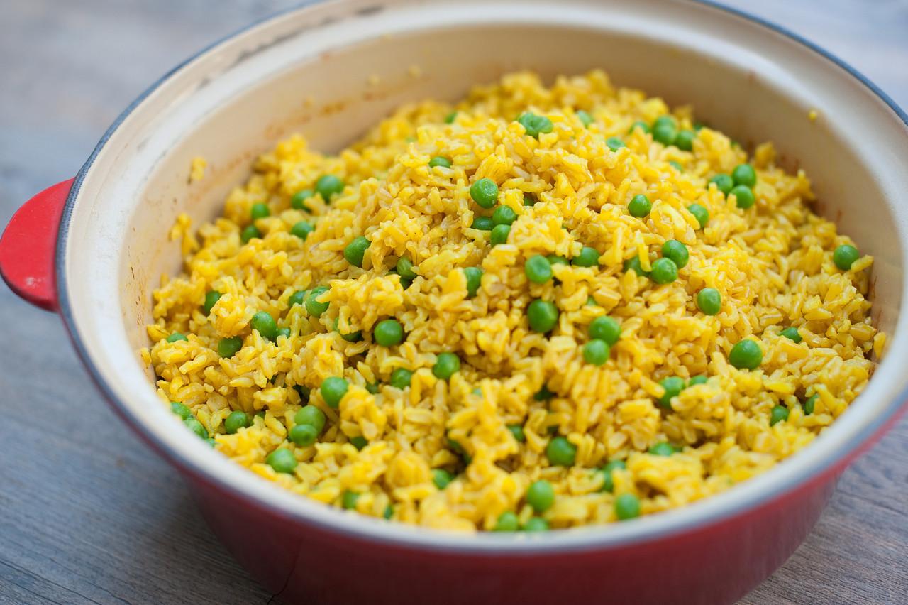 Indian Basmati Rice With Peas Recipe Pamela Salzman