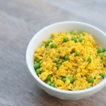 Indian basmati rice with peas | Pamela Salzman