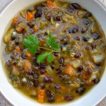 black bean and pumpkin soup | pamela salzman