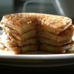Apple-Dipped Pancakes recipe