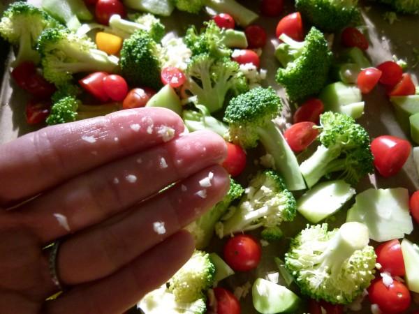 chop your garlic