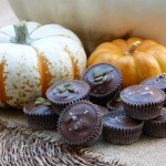 homemade chocolate-peanut butter cups and almond butter cups recipe